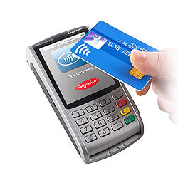 Mokėkite banko kortele
