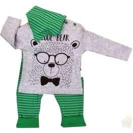 Komplektukas kūdikiams su kaklaskarė