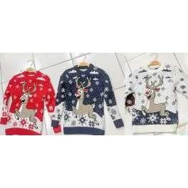 Kalėdinis megztinis vaikams