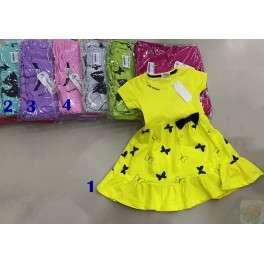 Suknelės mergaitėms su drugeliais