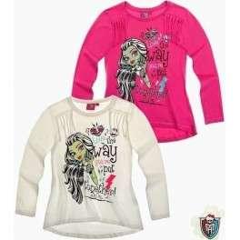 Palaidinė mergaitėms ilgomis rankovėmis Monster High