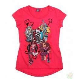 Palaidinės be rankovių Monster High arbūzinė